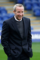 Charlton Athletic caretaker manager, Lee Bowyer during the Sky Bet League 1 match between AFC Wimbledon and Charlton Athletic at the Cherry Red Records Stadium, Kingston, England on 10 April 2018. Photo by Carlton Myrie / PRiME Media Images.