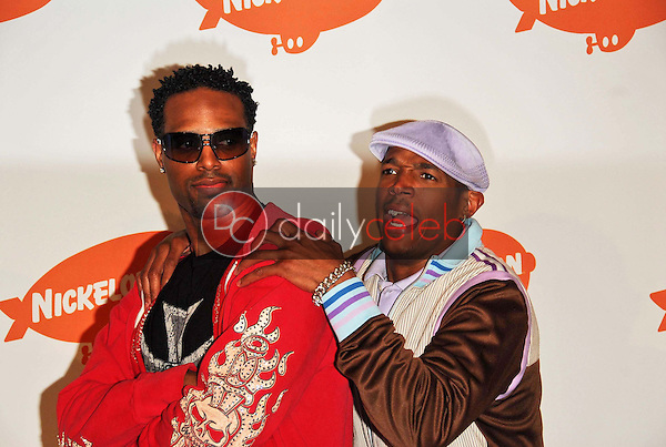 Sean Wayans and Marlon Wayans<br />in the press room at Nickelodeon's 19th Annual Kids' Choice Awards. Pauley Pavilion, Westwood, CA. 04-01-06<br />Dave Edwards/DailyCeleb.com 818-249-4998