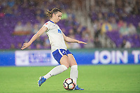 Orlando, FL - Saturday June 03, 2017: Morgan Andrews during a regular season National Women's Soccer League (NWSL) match between the Orlando Pride and the Boston Breakers at Orlando City Stadium.