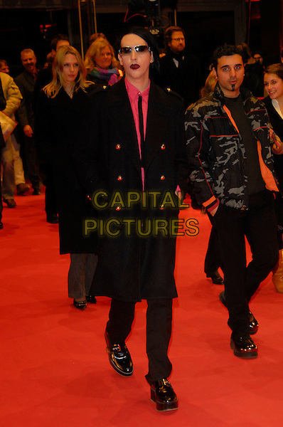MARILYN MANSON.At the 56th Berlin (Berlinale) Film Festival, Berlin, Germany..February 12th, 2006.Ref: KRA.full length black suit sunglasses shades.www.capitalpictures.com.sales@capitalpictures.com.©Capital Pictures
