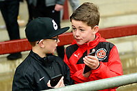 Young Fleetwood Town fans look on<br /> <br /> Photographer Richard Martin-Roberts/CameraSport<br /> <br /> The EFL Sky Bet League One - Fleetwood Town v Plymouth Argyle - Saturday 10th March 2018 - Highbury Stadium - Fleetwood<br /> <br /> World Copyright &not;&copy; 2018 CameraSport. All rights reserved. 43 Linden Ave. Countesthorpe. Leicester. England. LE8 5PG - Tel: +44 (0) 116 277 4147 - admin@camerasport.com - www.camerasport.com