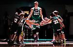 S&ouml;dert&auml;lje 2014-10-01 Basket Basketligan S&ouml;dert&auml;lje Kings - Norrk&ouml;ping Dolphins :  <br /> S&ouml;dert&auml;lje Kings Carl Engstr&ouml;m g&ouml;r entr&eacute; i T&auml;ljehallen under ett intro inf&ouml;r matchen mot Norrk&ouml;ping Dolphins <br /> (Foto: Kenta J&ouml;nsson) Nyckelord:  S&ouml;dert&auml;lje Kings SBBK T&auml;ljehallen Norrk&ouml;ping Dolphins portr&auml;tt portrait intro