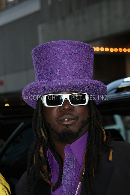 WWW.ACEPIXS.COM . . . . .....August 26, 2008. New York City.....Singer T-Pain leaves the TRL MTV Studios on August 26, 2008 in New York City...  ....Please byline: Stan Rose- ACEPIXS.COM..... *** ***..Ace Pictures, Inc:  ..Philip Vaughan (646) 769 0430..e-mail: info@acepixs.com..web: http://www.acepixs.com
