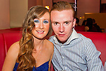 Darelene McDonnell and James Cudden out in Bru for James 20th Birthday.<br /> Picture: Shane Maguire / www.newsfile.ie
