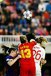 UEFA Women's Champions League 2017/2018.<br /> Quarter Finals.<br /> FC Barcelona vs Olympique Lyonnais: 0-1.