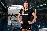 Helena Gasson, New Zealand swimming team announcement for the 2018 Commonwealth Games. Sir Owen G. Glenn National Aquatic Centre, Auckland. 22 December 2017. Copyright Image: William Booth / www.photosport.nz
