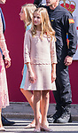 Princess of Asturias Leonor during the Military parade because of the Spanish National Holiday. October 12, 2019.. (ALTERPHOTOS/ Francis Gonzalez)