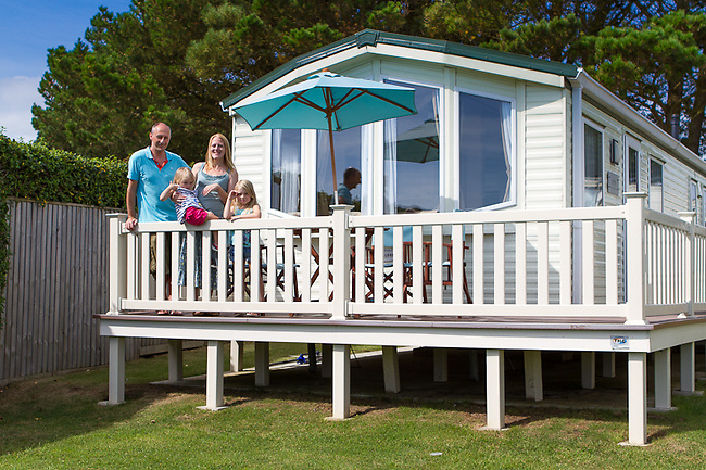 Commercial photography at Sandhills Holiday Park, Isle of Wight Luxury Caravan Holiday Homes.