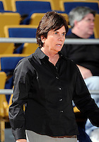 Florida International University Head Coach Cindy Russo during the game against ULM. FIU won the game 65-55 on January 07, 2012 at Miami, Florida. .
