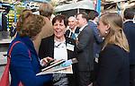 AMERSFOORT - Jacqueline Lambrechtse .  Nationaal Golf Congres & Beurs (Het Juiste Spoor) van de NVG.     © Koen Suyk.