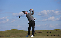 Tom Sloman during Round Two of the West of England Championship 2016, at Royal North Devon Golf Club, Westward Ho!, Devon  23/04/2016. Picture: Golffile | David Lloyd<br /> <br /> All photos usage must carry mandatory copyright credit (&copy; Golffile | David Lloyd)