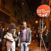 FuoriSalone2010 Zona Tortona: vita notturna nelle vie di Milano<br /> <br /> Nightlife during the International furniture show collateral events around the streets in Milan