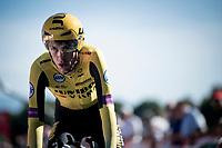 George Bennett (NZL/Jumbo Visma) rolling in at the finish<br /> <br /> stage 10 (ITT): Jurançon to Pau (36.2km > in FRANCE)<br /> La Vuelta 2019<br /> <br /> ©kramon