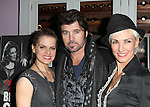Amy Spanger, Billy Ray Cyrus & Amra-Faye Wright  celebrating Billy Ray Cyrus making his Broadway Debut  in 'Chicago' at Victor's Cafe in New York City on 11/05/2012