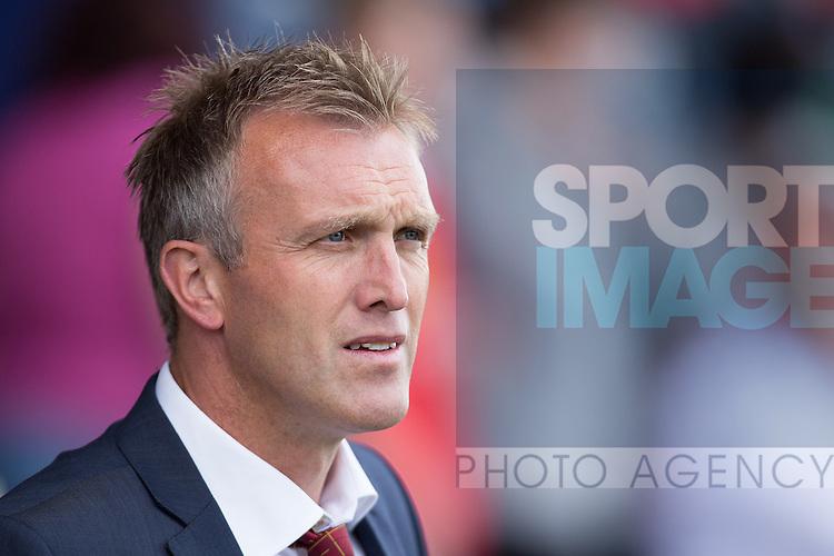 Steve Davis, manager of Crewe Alexandra - Crewe Alexandra vs. Peterborough United - Skybet League One - Alexandra Stadium - Crewe - 07/09/2013 Pic Philip Oldham/Sportimage