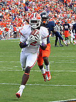 Clemson wide receiver Sammy Watkins (2) during and NCAA football game at Scott Stadium in Charlottesville, VA. Clemson defeated Virginia 59-10. Photo/Andrew Shurtleff