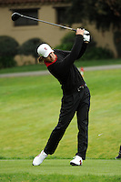 STANFORD, CA - APRIL 13:  Jordan Cox of the Stanford Cardinal during the U.S. Intercollegiate on April 13, 2010 at the Stanford Golf Course in Stanford, California.