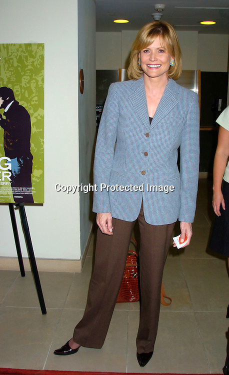 "Catherine Crier ..at the New York Premiere of "" Going Upriver: The Long War of John Kerry"" on October 1, 2004 at the Asia Society..Photo by Robin Platzer, Twin Images"