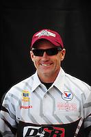 Nov. 2, 2008; Las Vegas, NV, USA: NHRA pro stock motorcycle rider Craig Treble during the Las Vegas Nationals at The Strip in Las Vegas. Mandatory Credit: Mark J. Rebilas-