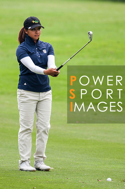 Princess Mary Superal of Philippines in action during the 9th Faldo Series Asia Grand Final 2014 golf tournament on March 19, 2015 at Mission Hills Golf Club in Shenzhen, China. Photo by Xaume Olleros / Power Sport Images