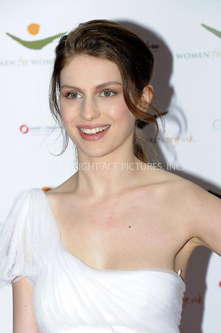 WWW.ACEPIXS.COM . . . . .  ..... . . . . US SALES ONLY . . . . .....May 3 2012, New York City....Tali Lennox at the Women for Women International Gala on May 3 2012 in London....Please byline: FAMOUS-ACE PICTURES... . . . .  ....Ace Pictures, Inc:  ..Tel: (212) 243-8787..e-mail: info@acepixs.com..web: http://www.acepixs.com