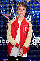 HRVY arriving for the Global Awards 2018 at the Apollo Hammersmith, London, UK. <br /> 01 March  2018<br /> Picture: Steve Vas/Featureflash/SilverHub 0208 004 5359 sales@silverhubmedia.com