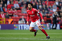 Nicky Ajose of Charlton Athletic during Charlton Athletic vs Scunthorpe United, Sky Bet EFL League 1 Football at The Valley on 14th April 2018