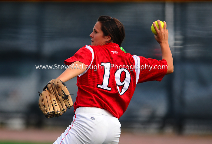 University of Hartford Fall Softball action vs. Marist.