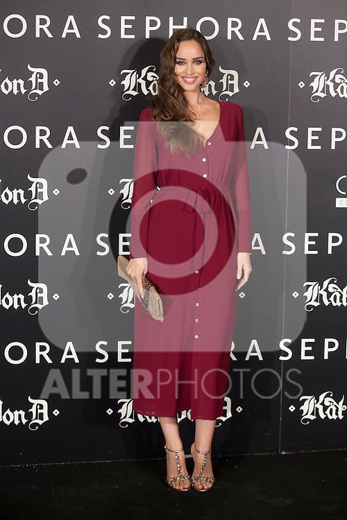 Kat Von D´s make-up presentation in Madrid, Spain. October 07, 2015. (ALTERPHOTOS/Victor Blanco)