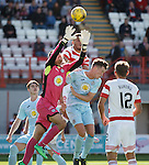 Tomas Cerny saves for Partick Thistle