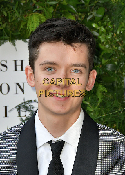 Asa Butterfield at Charity ball in aid of One For The Boys, a charity raising awareness of male forms of cancer, encouraging men to get checked regularly. Evening celebrates the launch of the 2016 campaign film The Difference, at Victoria and Albert Museum, London, England June 12, 2016.<br /> CAP/JOR<br /> &copy;JOR/Capital Pictures