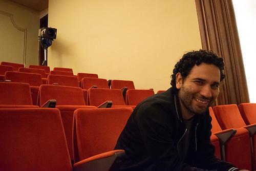 Juan Carrillo, Director de Los Colochos (México.). Foto, Canek Denis.