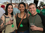 Chloe Hearn, Keanna Velez and Ian McNeill on St. Patrick's Day in Reno on Friday, March 17, 2017.