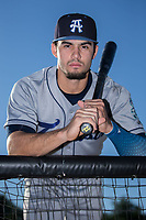 Willie Abreu (6) of the Asheville Tourists poses for a photo prior to the game against the Kannapolis Intimidators at Kannapolis Intimidators Stadium on May 8, 2017 in Kannapolis, North Carolina.  (Brian Westerholt/Four Seam Images)