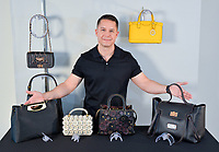 Kickstarter photo-video project. Founder with innovative handbag display system. You can watch the video on the Videos page.