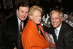 Lee Roy Reams, Tammy Grimes and David Lewis attends the '12th Annual Love N' Courage' celebrating David Amram and Tammy Grimes at The National Arts Club on March 2,, 2015 in New York City.