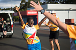 Batonbearer Anastasia Umeh celebrates as she is about to receive the Baton as the Queen's Baton Relay visited Manjimup. From 25 January to 2 March 2018, the Queen's Baton will visit every other state and territory before Queensland. As the Queen's Baton Relay travels the length and breadth of Australia, it will not just pass through, but spend quality time in each community it visits, calling into hundreds of local schools and community celebrations in every state and territory. The Gold Coast 2018 Commonwealth Games (GC2018) Queen's Baton Relay is the longest and most accessible in history, travelling through the Commonwealth for 388 days and 230,000 kilometres. After spending 100 days being carried by approximately 3,800 batonbearers in Australia, the Queen's Baton journey will finish at the GC2018 Opening Ceremony on the Gold Coast on 4 April 2018.