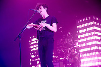ST. PAUL, MN - MAY 17: The 1975 perform at Roy Wilkins Auditorium on May 17, 2017 in St. Paul, Minnesota. Credit: Tony Nelson/MediaPunch