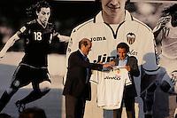 2012.07.11 Presentacion Guardado, Valencia CF
