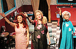 Curtain Call with cast left to right - Ursula Anderman, Maia Guest, Julie Heckert - Dress rehearsal on November 28, 2017 of Steel Magnolias performed at the Phillipstown Depot Theatre, Garrison, New York. (Photo by Sue Coflin/Max Photo)