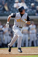 February 17 2006: Evan Longoria of Long Beach State University in action at Dedeaux Field in Los Angeles,CA.  Photo by Larry Goren/Four Seam Images