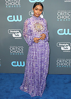 SANTA MONICA, CA - JANUARY 11:  Yara Shahidi at the 23rd Annual Critics' Choice Movie Awards at Barker Hangar on January 11, 2018 in Santa Monica, California. (Photo by Scott Kirkland/PictureGroup)