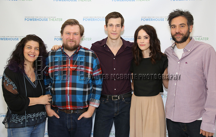 Sheryl Kaller, Michael Chernus, David T Patterson, Abigail Spencer and Josh Radnor attends the Media Day for 33rd Annual Powerhouse Theater Season at Ballet Hispanico in New York City.