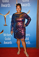 LOS ANGELES, CA. February 17, 2019: Dawn Kamoche at the 2019 Writers Guild Awards at the Beverly Hilton Hotel.<br /> Picture: Paul Smith/Featureflash
