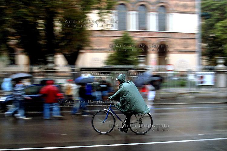 Italia, Milano, 2009..Biciclette..Italy, Milan, 2009..Bicycle..© Andrea Pagliarulo