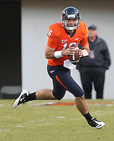 Oct. 15, 2011-Charlottesville, VA.-USA- Virginia Cavaliers quarterback Michael Rocco (16) during the ACC football game against Georgia Tech at Scott Stadium. Virginia won 24-21. (Credit Image: © Andrew Shurtleff/