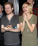 Anthony Rapp and Jenn Colella during the Broadway Opening Night  AEA Gypsy Robe Ceremony honoring Curtis Holbrook for  'IF/THEN' at the Richard Rodgers Theatre on March 30, 2014 in New York City.