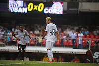 SAO PAULO, SP, 03 MARÇO 2013 - CAMP. PAULISTA - SANTOS X CORINTHIANS -Neymar  do Santos em partida contra o Corinthians válida pelo Campeonato Paulista 2013 no Estádio do Morumbi em São Paulo (SP), neste domingo (03). (FOTO: WILLIAM VOLCOV / BRAZIL PHOTO PRESS).
