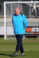 Woking Assistant Manager, Martin Tyler ahead of kick-off during Dartford vs Woking, Vanarama National League South Football at Princes Park on 23rd February 2019