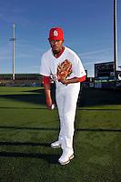 Mar 01, 2010; Jupiter, FL, USA; St. Louis Cardinals pitcher Francisco Samuel (73) during  photoday at Roger Dean Stadium. Mandatory Credit: Tomasso De Rosa/ Four Seam Images